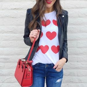 Tops - ILY Couture Hearts Tee